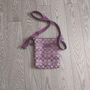 Beautiful crossbody bag by Coach 🍀